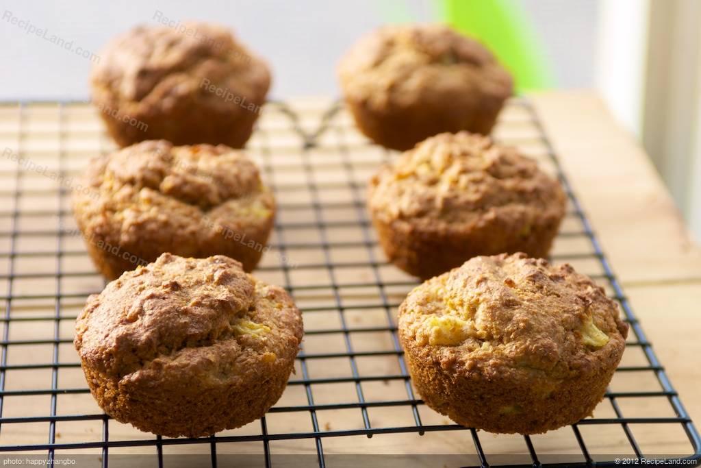 Pineapple-Bran Whole-Wheat Muffins Recipe