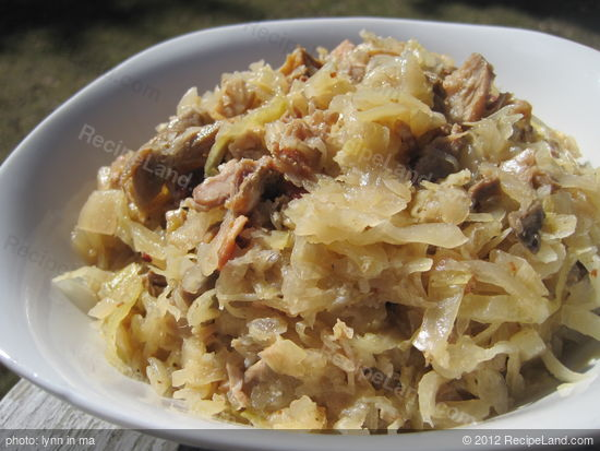 Sauerkraut with Country-Style Ribs