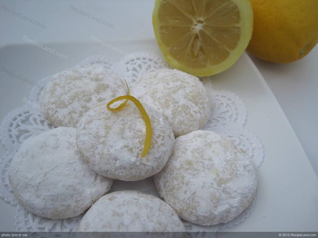 Sunshine Lemon Cooler Cookies Recipe