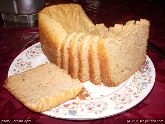 peanut butter bread machine recipe