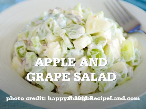 Apple and Grape Salad
