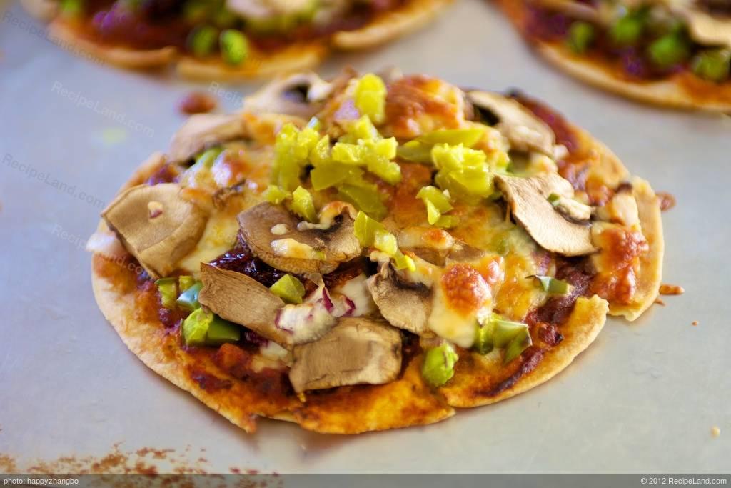 Quick Tortilla Pizzas Recipe Recipeland Com