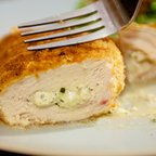 Pesto and Cream Cheese Stuffed Chicken Breasts