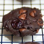 Chewy Chocolate-Cherry Cookies