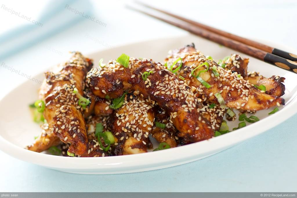 Easy Sesame Chicken Bites Recipe