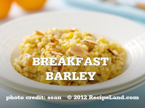 Breakfast Barley