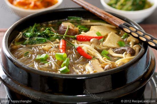 Korean Hot Pot Recipe Recipeland Com