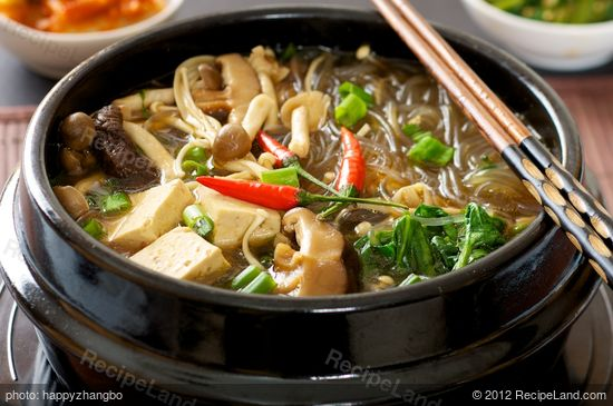Korean Hot Pot Recipe Recipeland Com
