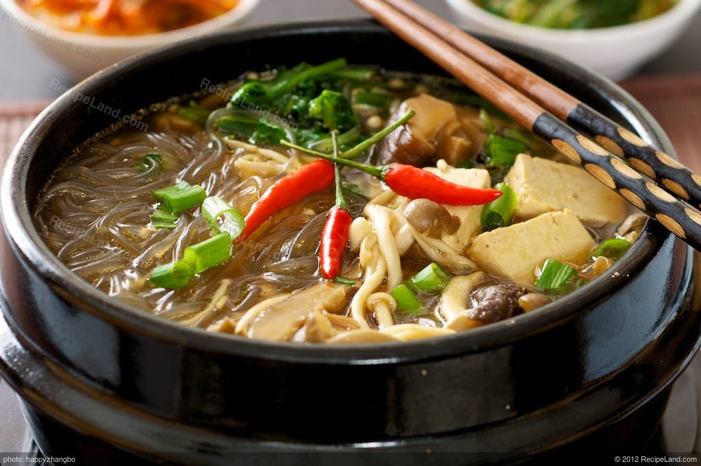 Korean hot pot recipe