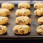 Peanut Butter, Chocolate Chip and Chickpea Cookies (Gluten-free)