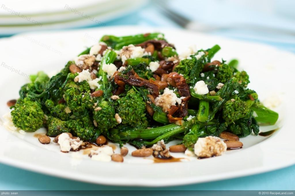 Braised Broccoli Rabe (Rapini) Sun-dried Tomatoes and Feta ...