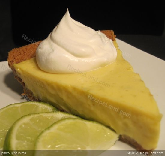 Florida Key Lime Pie recipe | RecipeLand.com