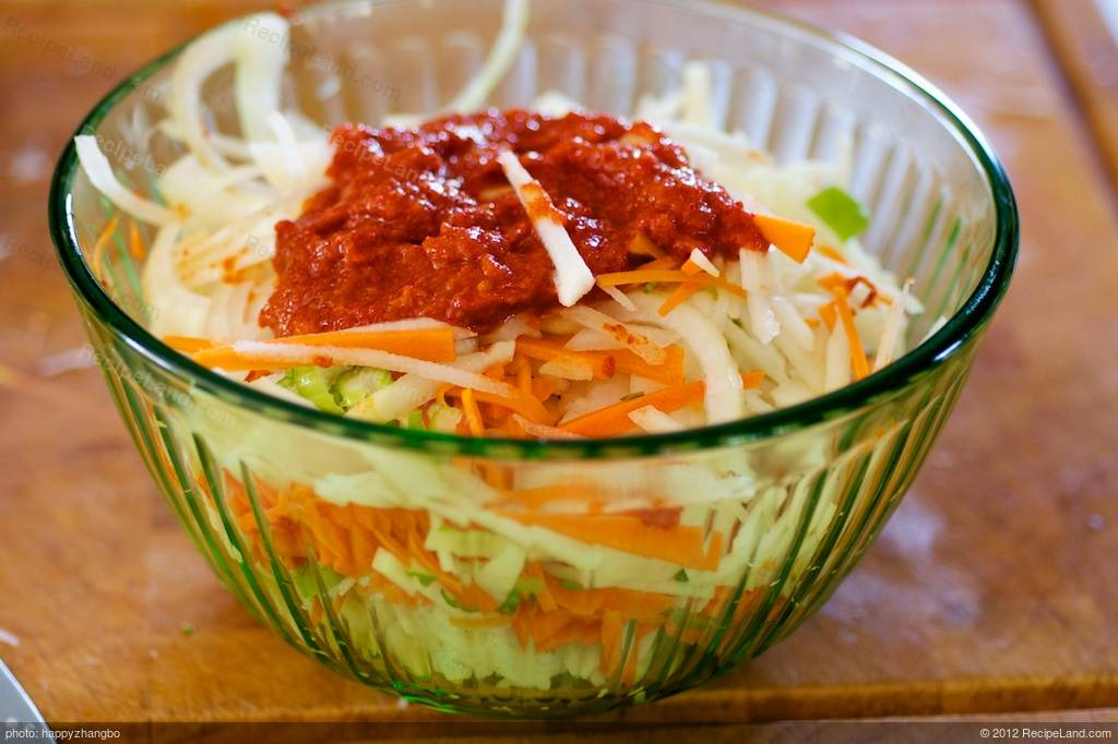 Easy Korean Cucumber Kimchi Recipe