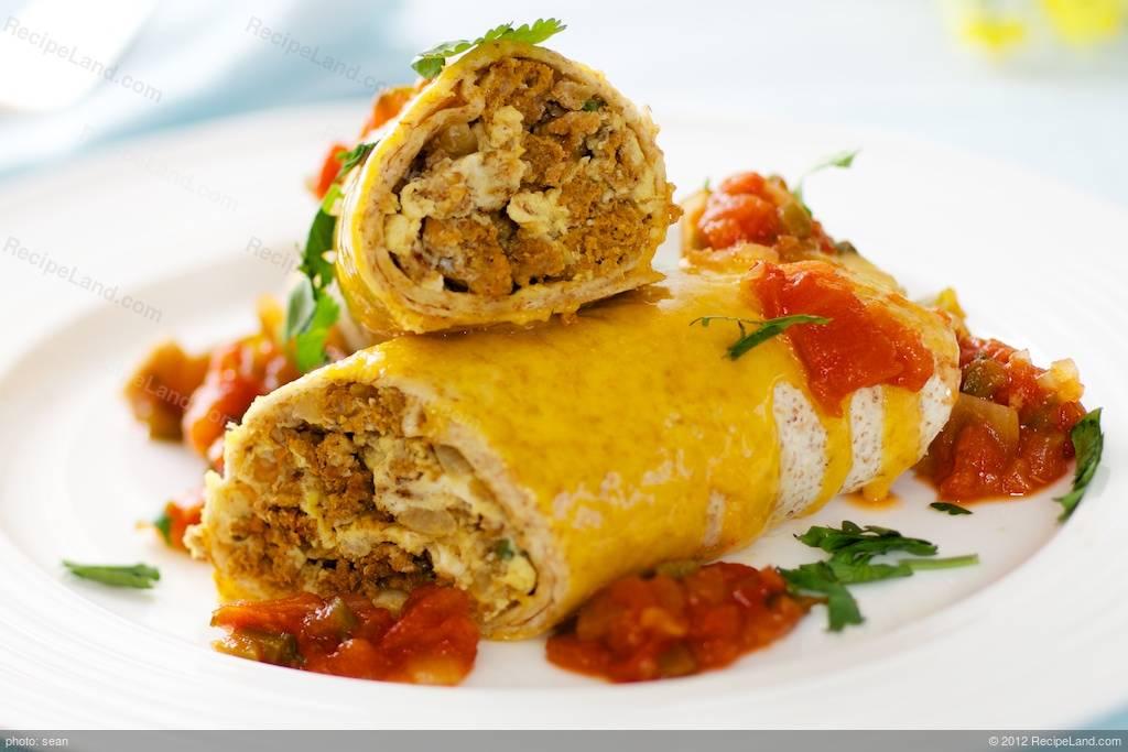 Huevos Con Chorizo Recipe   RecipeLand.com
