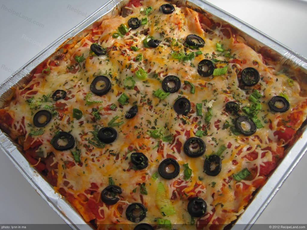 Mexican Nacho Casserole Recipe