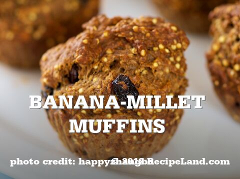 Banana-Millet Muffins
