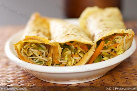 Bean Sprouts Stir Fry With Bell Pepper And Carrot Recipe