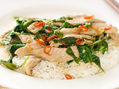 Thai Pork with Basil