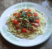 Chicken and Pasta in Ginger Sauce