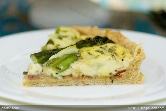 Asparagus and Bacon Quiche