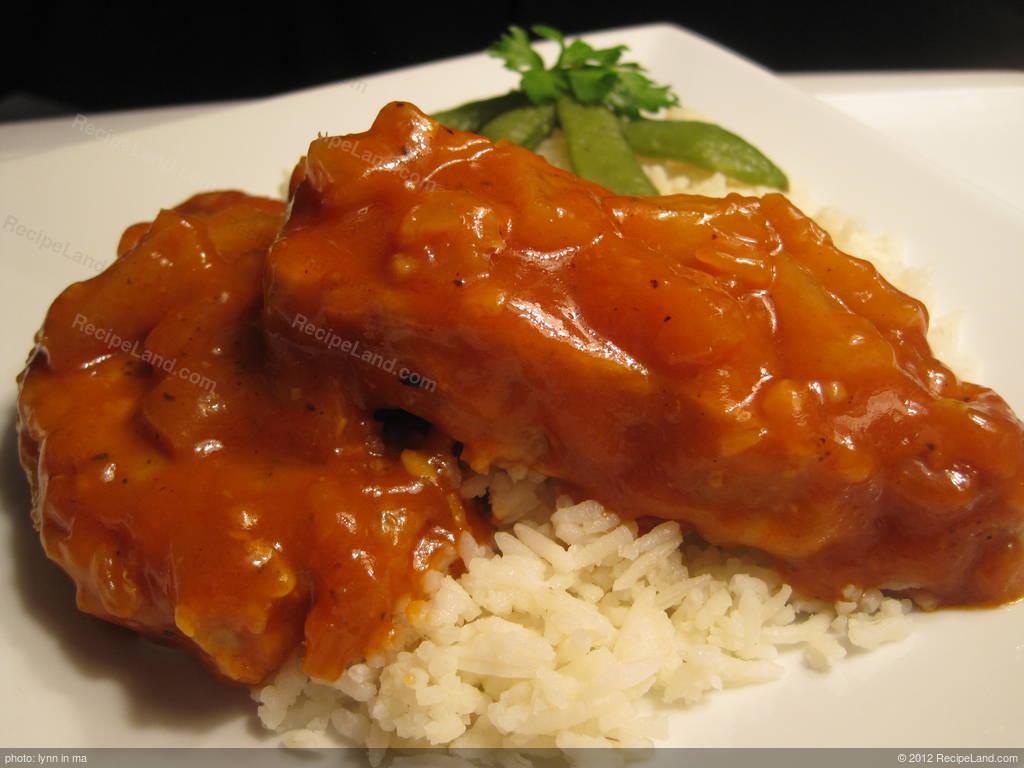 Hawaiian Pork Chops Recipe Recipeland Com