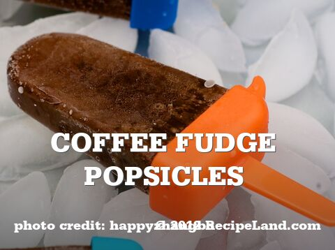 Coffee Fudge Popsicles