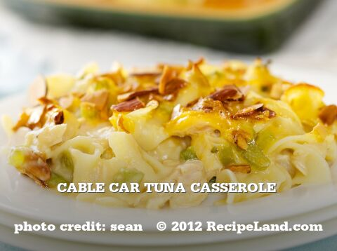 Cable Car Tuna Casserole