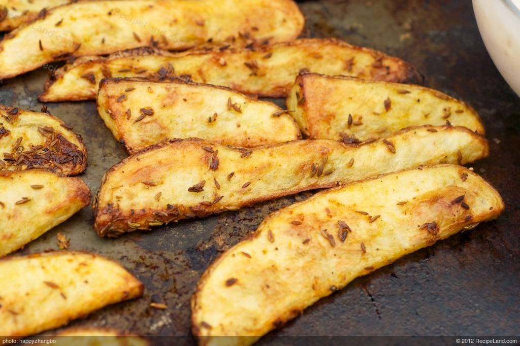 Craving some fries? But don't want those deep-fried stuff? These cumin ...
