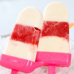 Strawberry and Oreo Popsicles