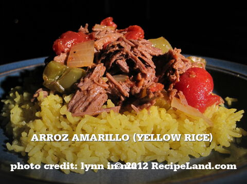 Arroz Amarillo (Yellow Rice)