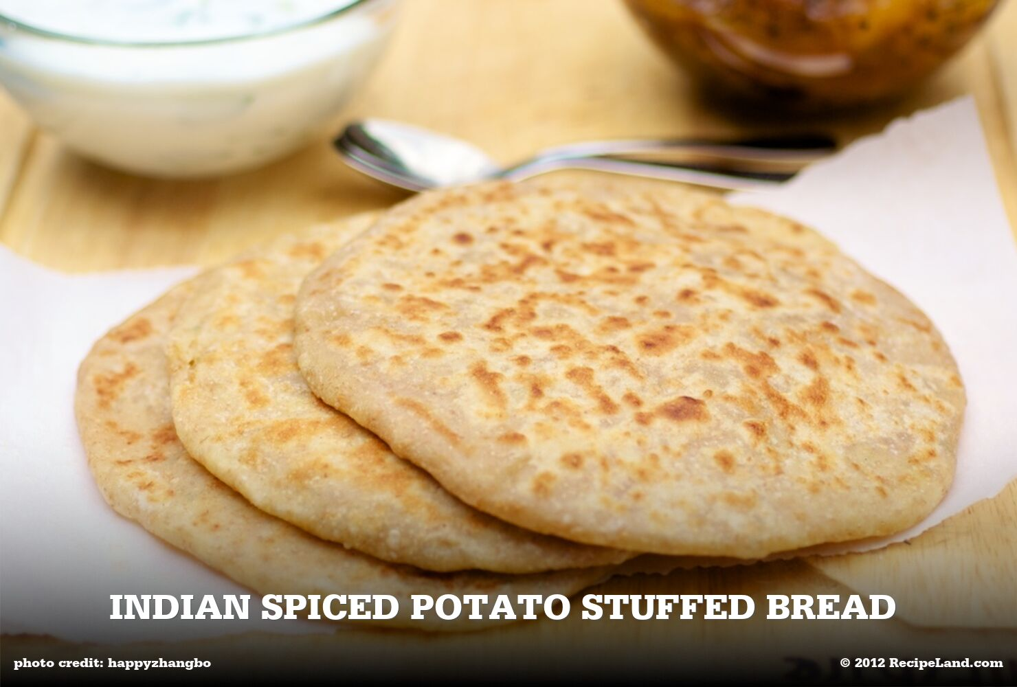 Indian Spiced Potato Stuffed Bread