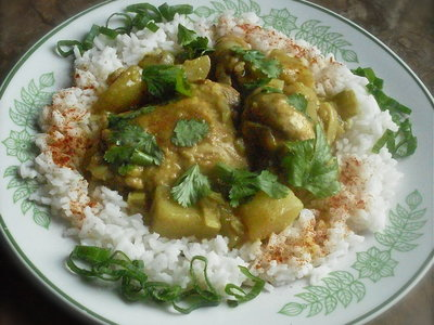 Szechwan Curried Chicken