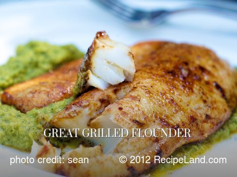 Great Grilled Flounder