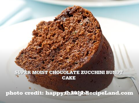 Chocolate Zucchini Bundt Cake