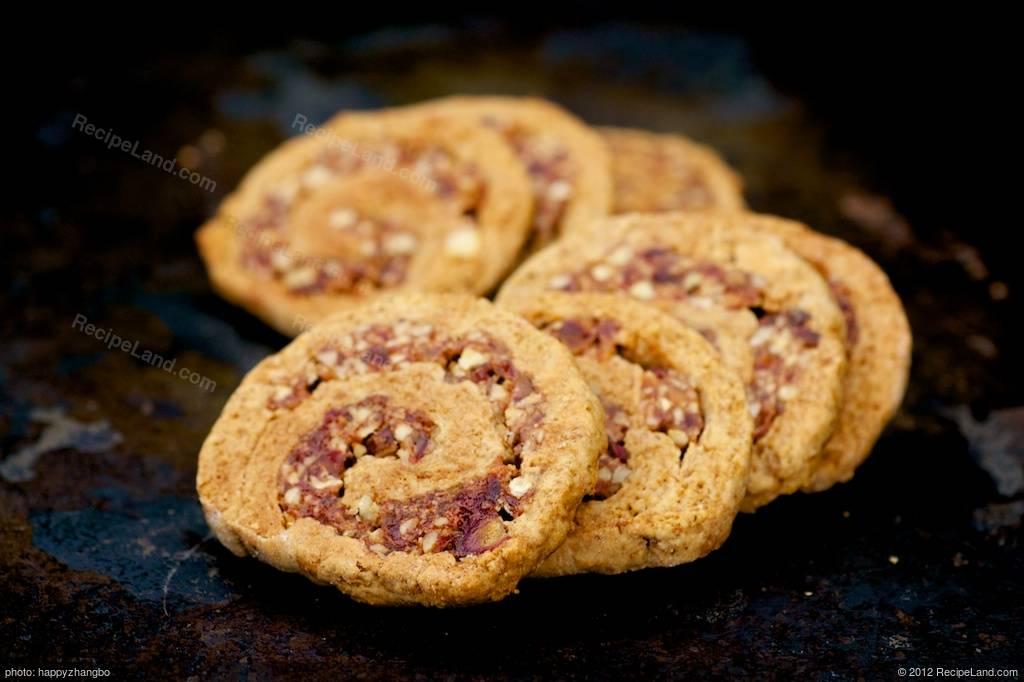 Date pinwheel cookies in Australia