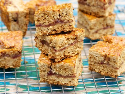 Date Squares (Healthier Version)
