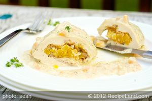Apricot Stuffed Chicken Breasts