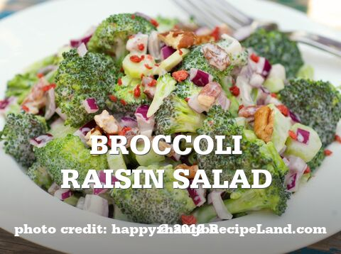 Broccoli Raisin Salad