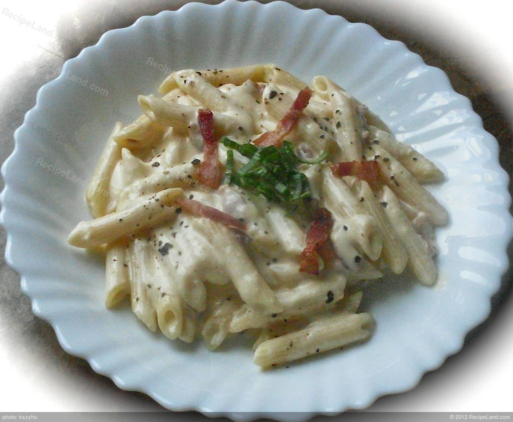 Herbs Chart 20 Minute Penne Carbonara For Two Recipe