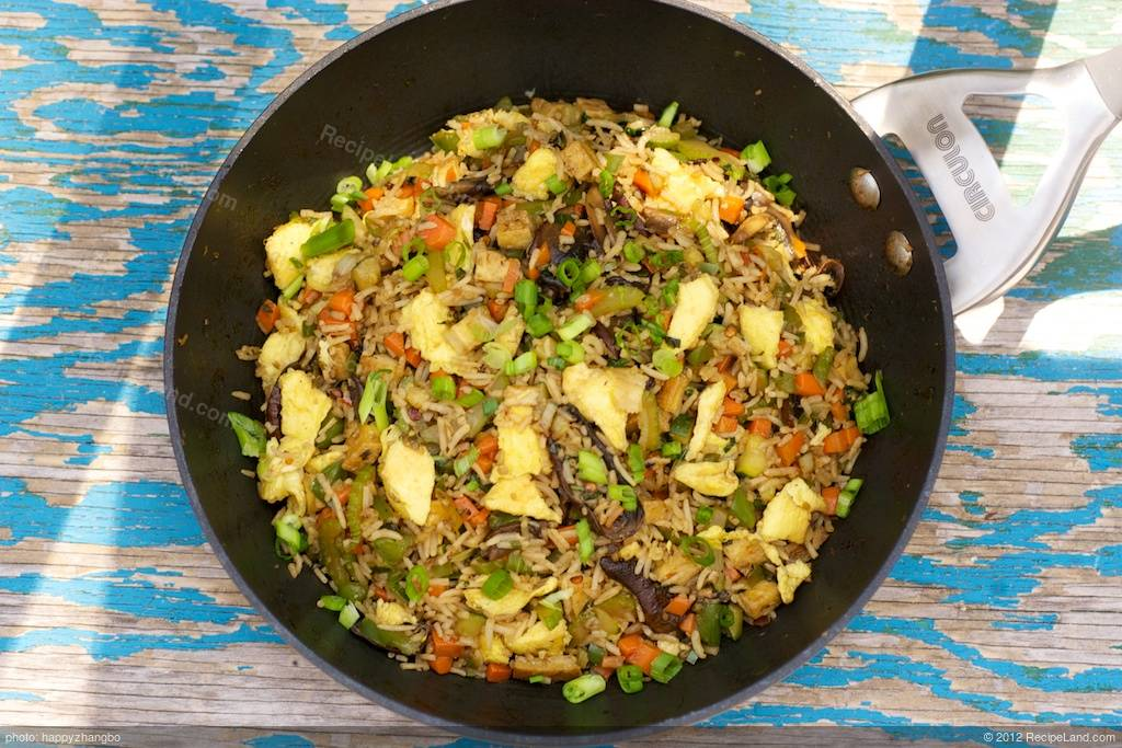 Sichuan Fried Rice Recipe Recipeland Com
