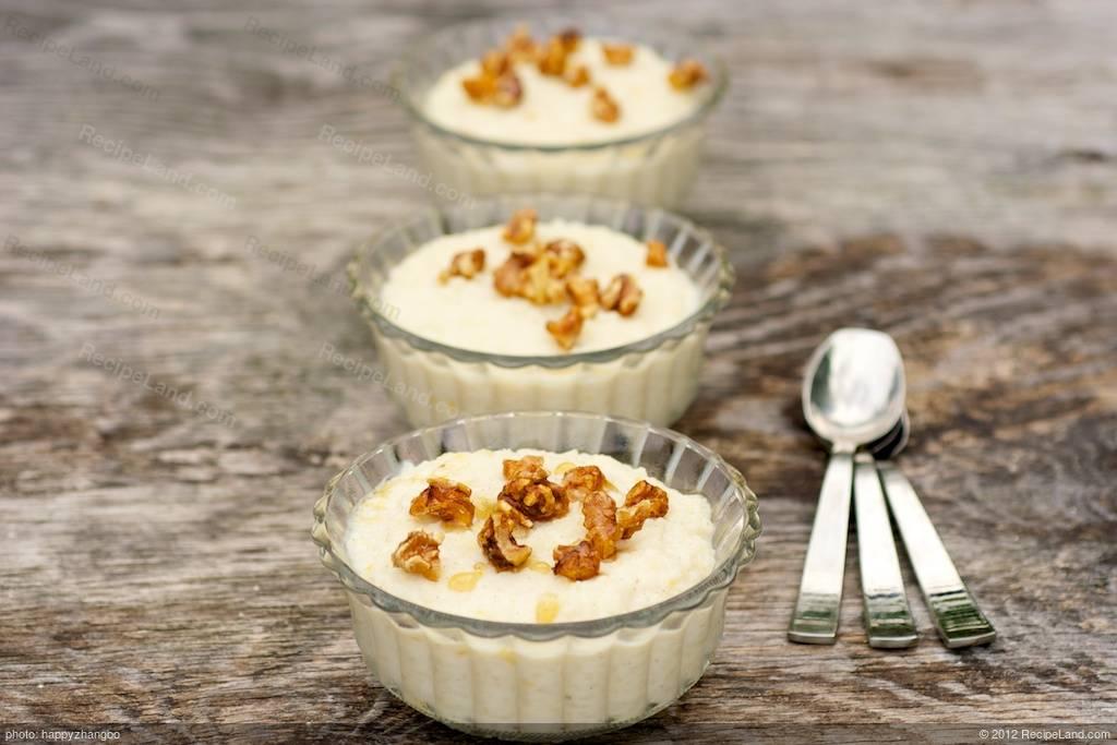 Maple Rice Pudding Recipe | RecipeLand.com