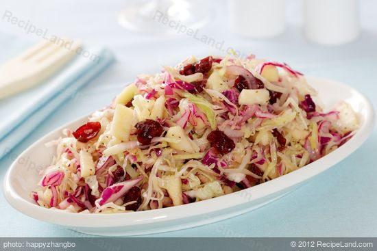 Red and Green Coleslaw