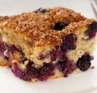 Family Favorite Blueberry Coffee Cake