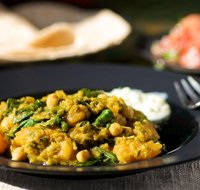 Butternut, Chickpea and Lentil Curry