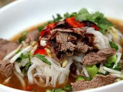 Hanoi Beef and Rice-Noodle Soup (Pho Bac)