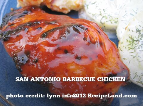 San Antonio Barbecue Chicken
