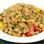 Tomato, Basil and Millet Salad
