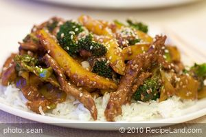 Chinese Spicy Sesame Beef Stir-Fry