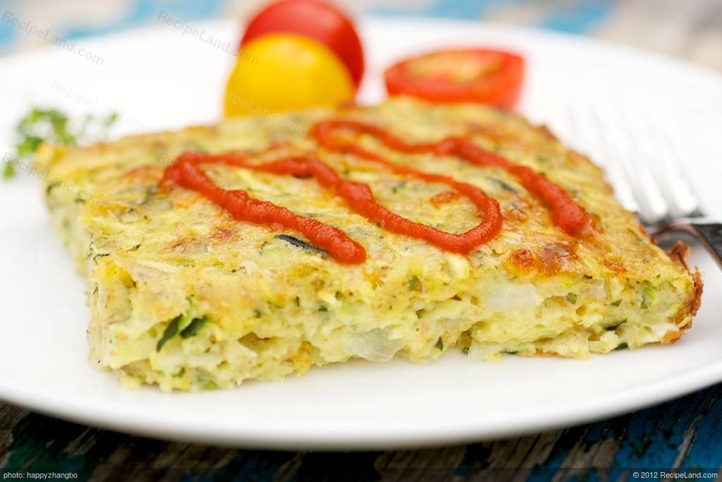 baked zucchini quiche recipe recipeland com