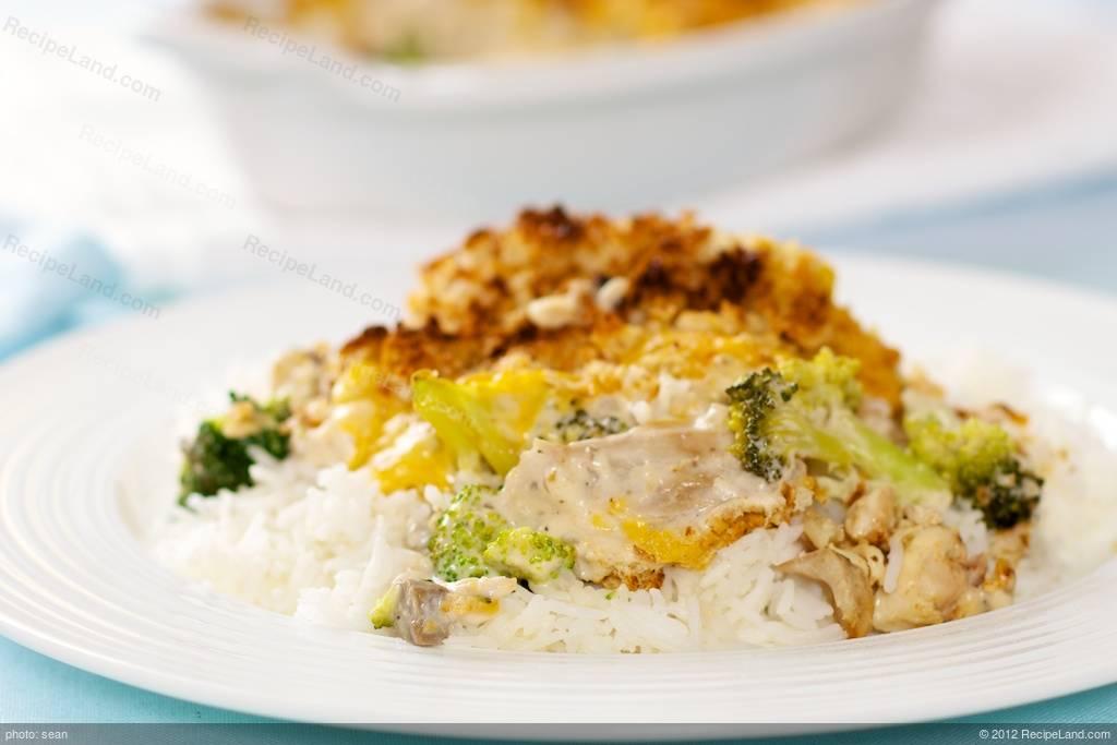 Curry Chicken Casserole Recipe